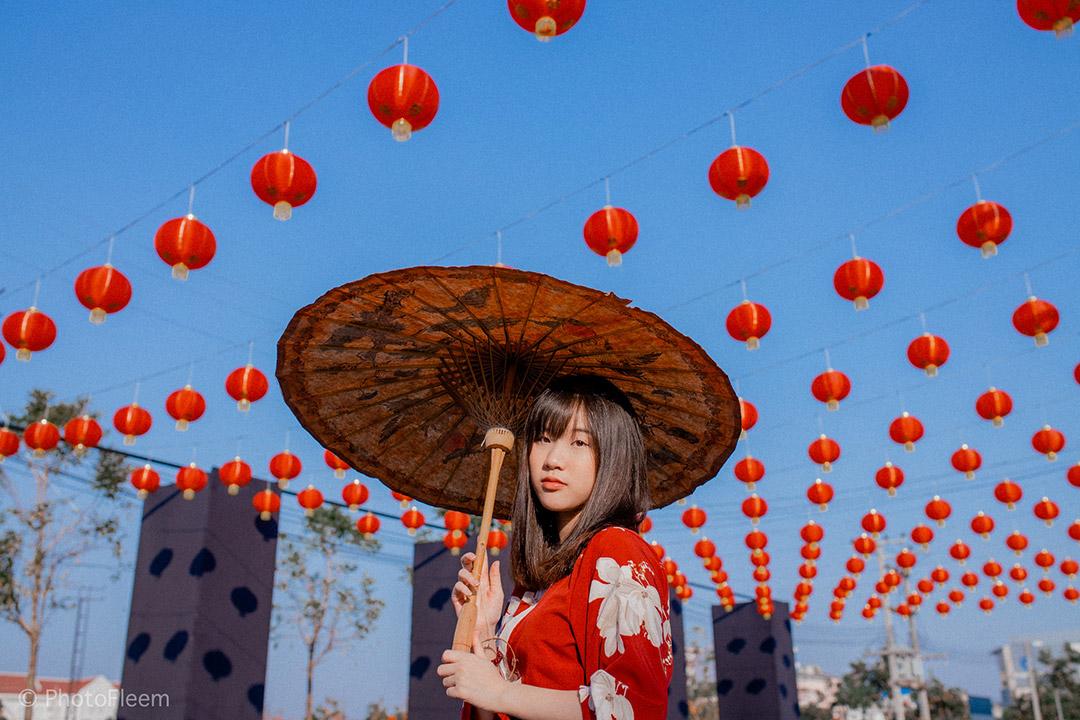 Lightroom แต่งรูป ตรุษจีน โทนฟิล์มสบายตา