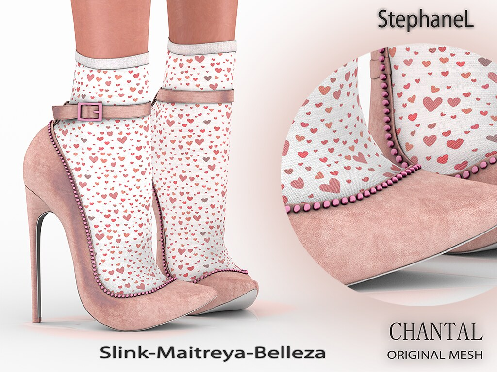 GIFT [StephaneL] CHANTAL SHOES