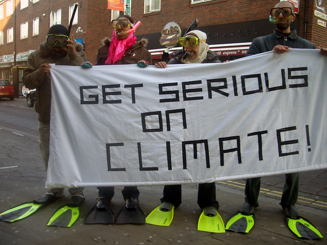 Get serious on climate