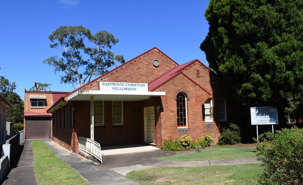 Former Chrisitan Bethren Church, Eastwood, Sydney, NSW.