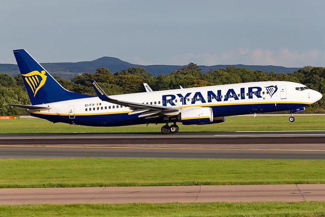 EI-FIV Ryanair B737-800 Manchester Airport