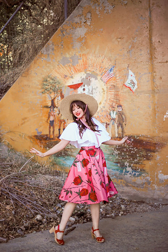 Made590 Valentina Skirt in Sweetheart Roses | by AshleyBelle12