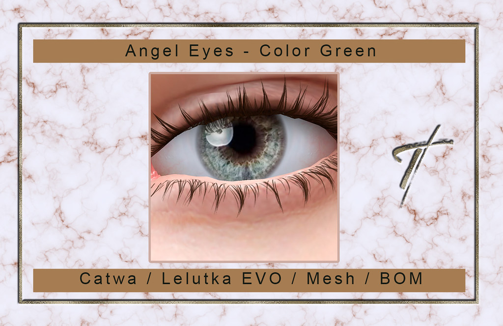 Tville – Angel Eyes * Green*