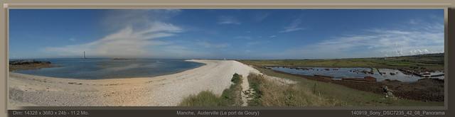 Manche, Auderville  (le port de Goury)