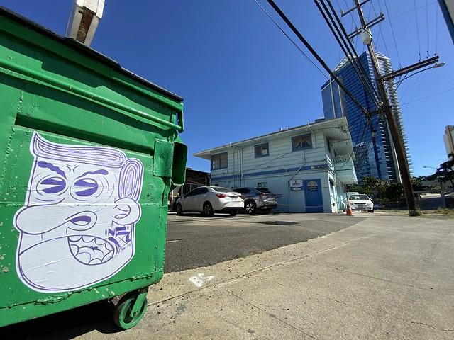 TONK NS - Honolulu Graffiti, 2021