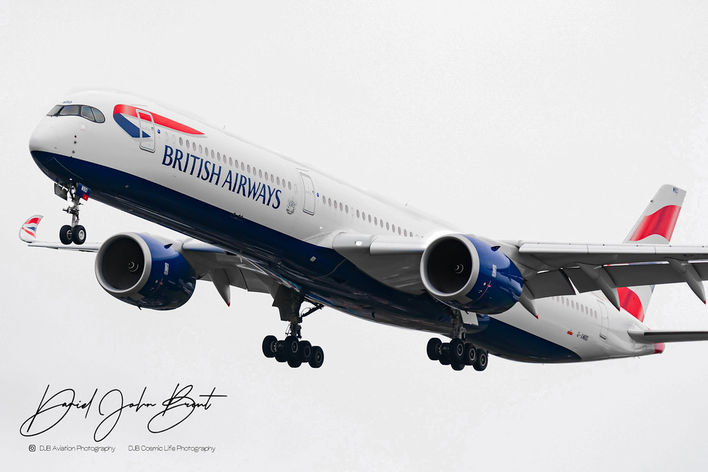 British Airways • Airbus A350 • G-XWBD