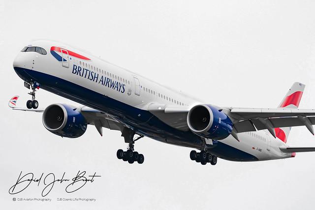 British Airways • Airbus A350 • G-XWBD