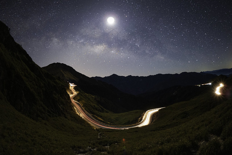 合歡山銀河|Nantou