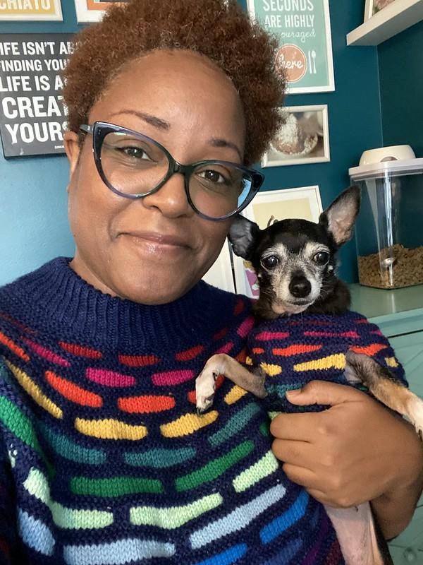 Rainbow sweaters