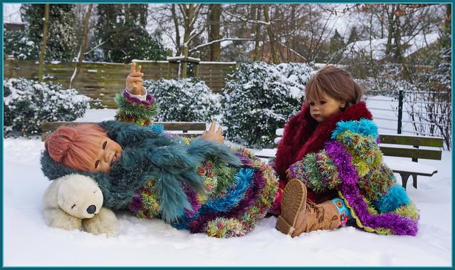 🍄💫🌲✨⛄️⛸💖⛸⛄️✨🌲💫🍄 Winterspaß ... Sanrike und Milina ...