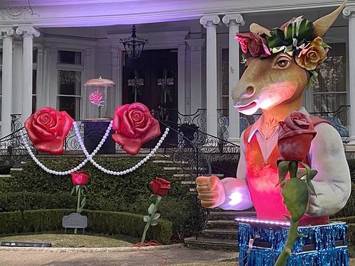 Roses on St Charles