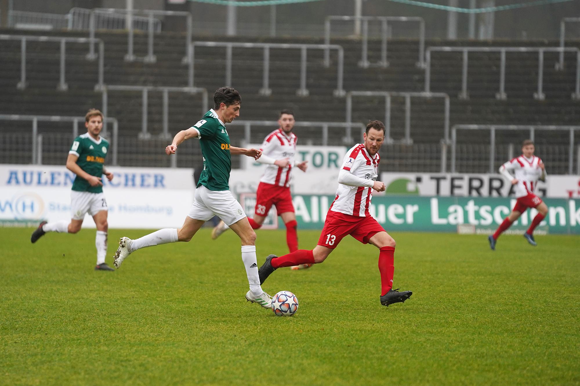 06.02.2021 | Saison 2020/21 | FC 08 Homburg | FC Gießen