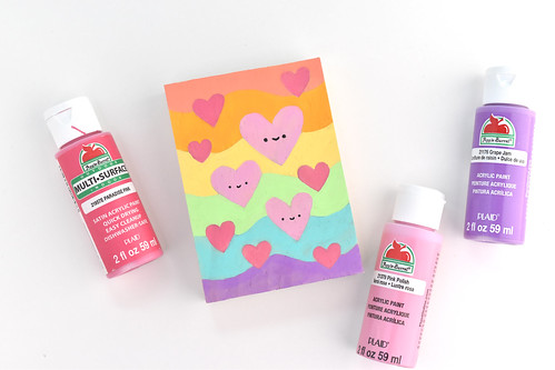 Valentine Mini Paintings | by wildolive