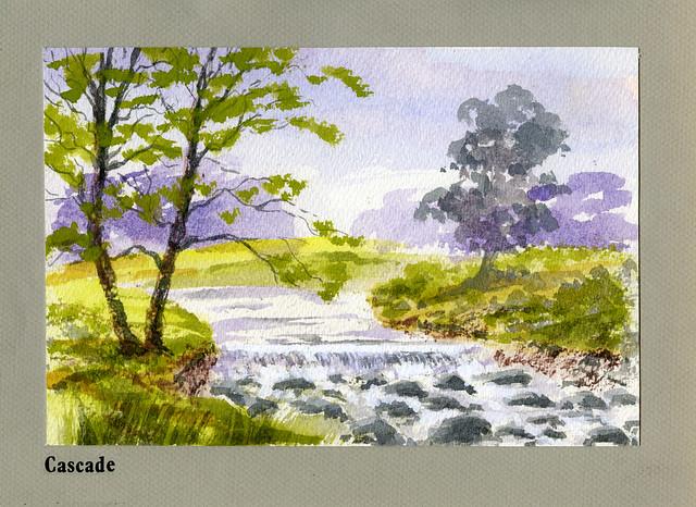 Cascade at The Grove, Carshalton