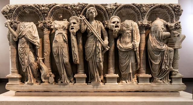 Masks and Roman Funerary Art - I