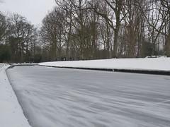 Frozen ditch