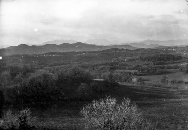 Panorama des del racó / Dry plate landscape