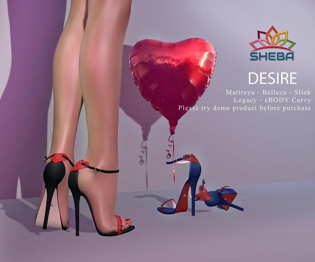 [Sheba] Desire Heels @Cosmopolitan