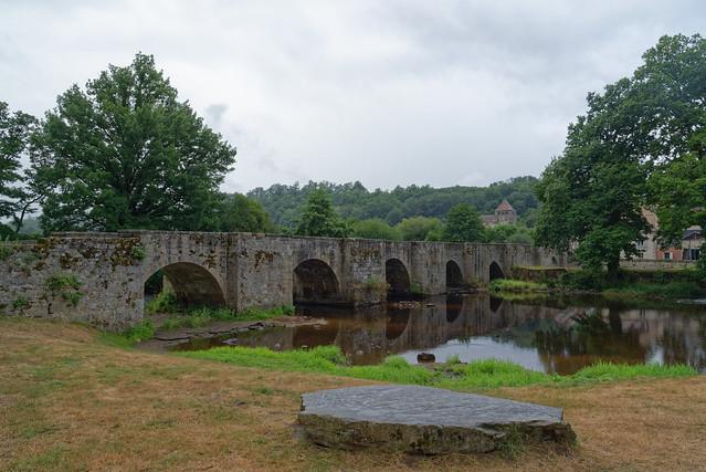 Pont médiéval - Moutier d'Ahun - Creuse