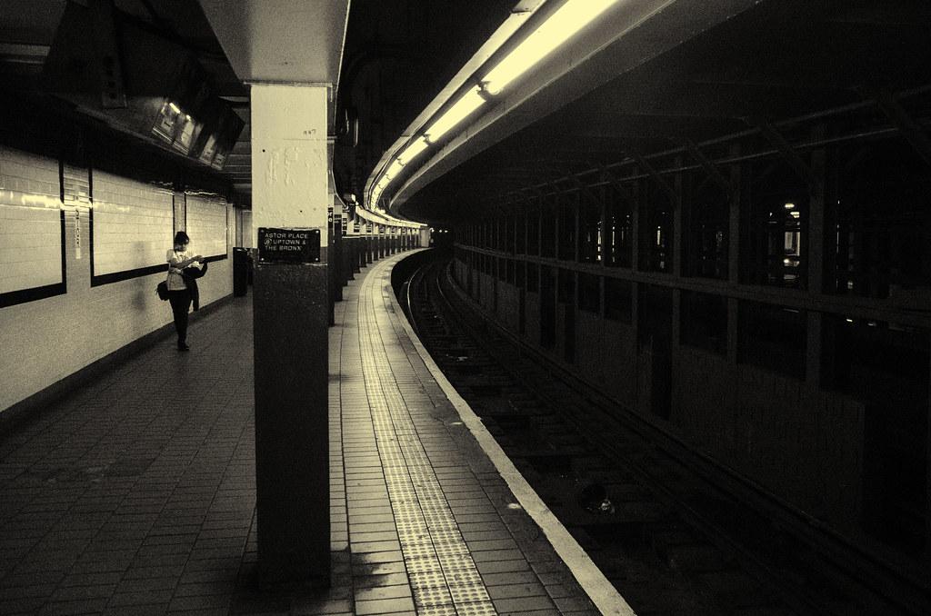 Astor Place MTA
