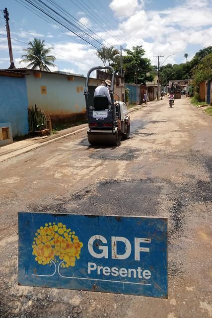 GDF Presente na Fercal