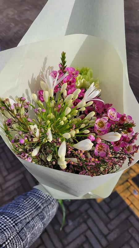 Flores del mercado de Lovaina