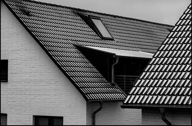 gezuckerte Dächer