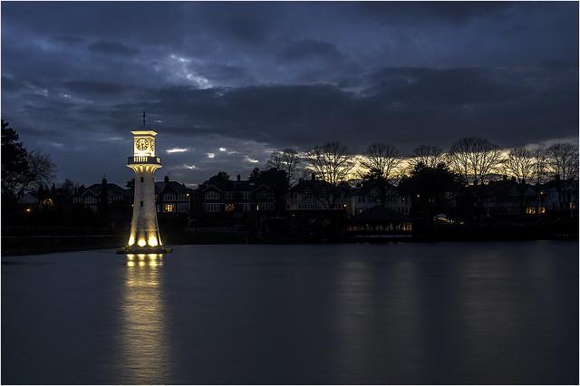 Sunset Roath park Cardiff 6 2 2021