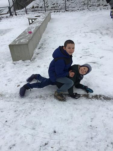 3de leerjaar - Sneeuwpret