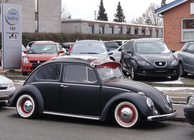 1965 VW Bug AB39155 has been on the roads of Denmark since imported in 2017