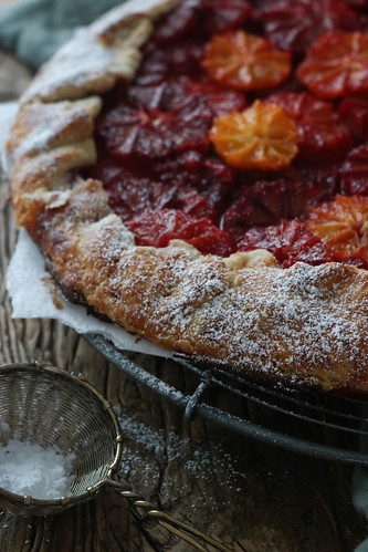 Blood Orange Tarte