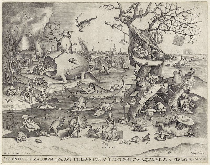 Pieter van der Heyden, After Pieter Bruegel the Elder - Patience, 1557