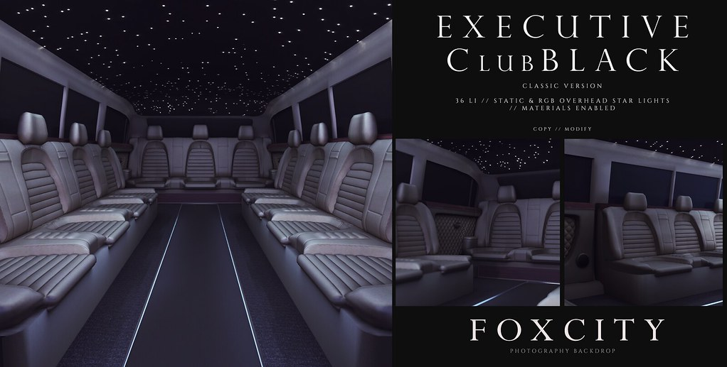 FOXCITY. Photo Booth – Executive ClubBLACK (Classic)