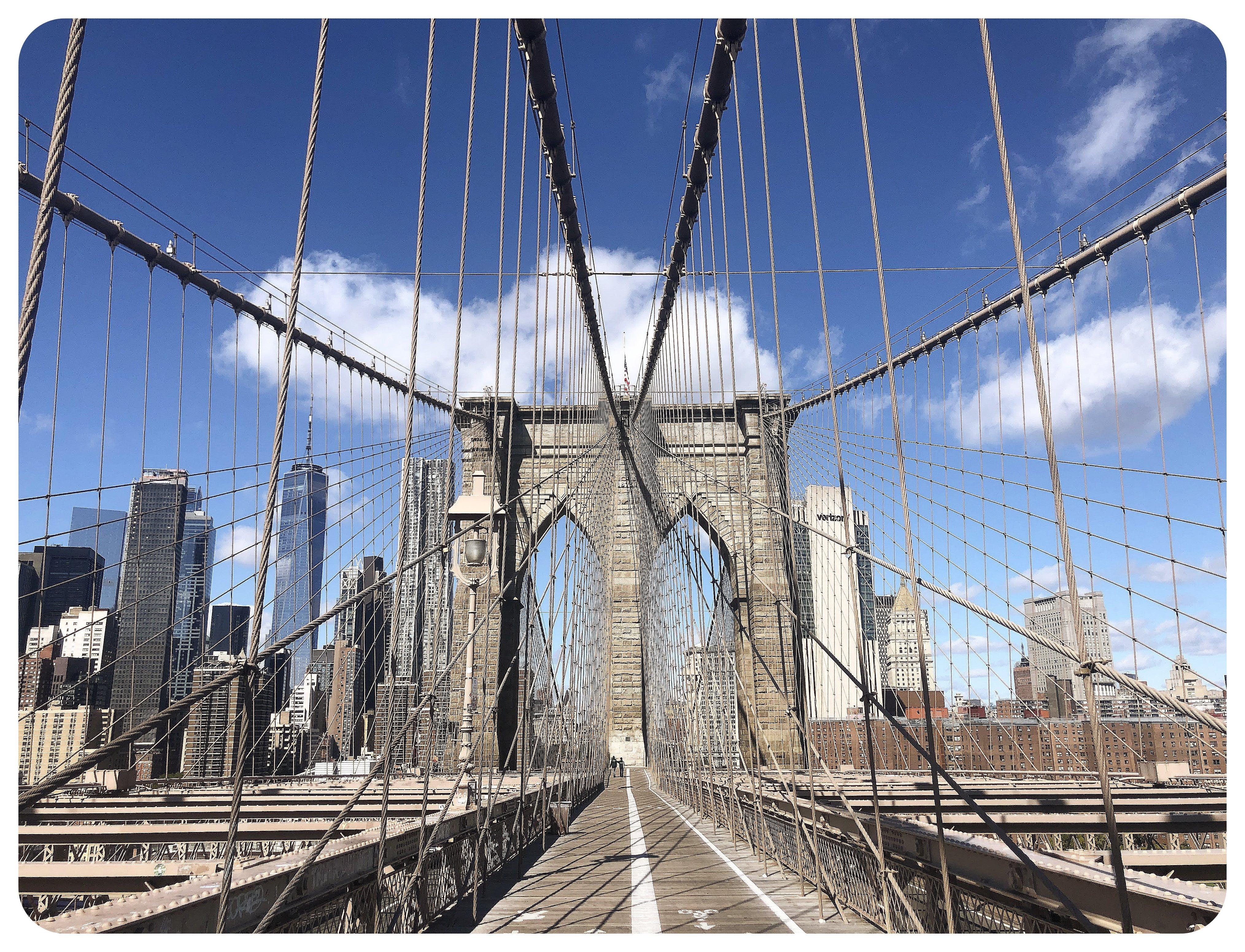 Brooklyn Bridge October 2020