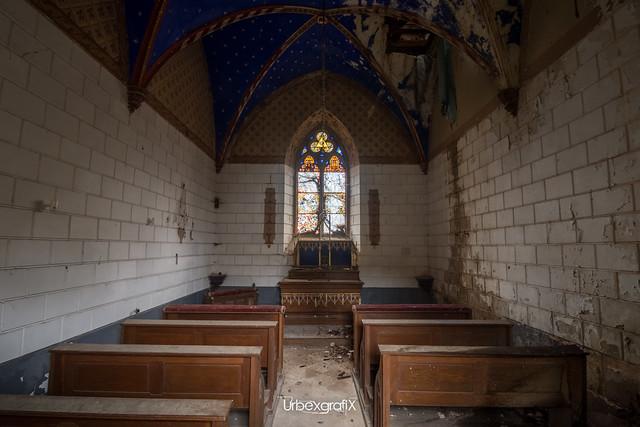 Urbex : Chapelle Providence