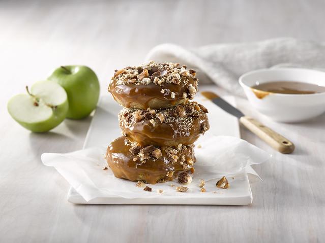 Carmel Apple Donut