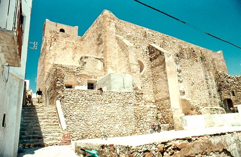 Eglise de Mojacar 1977 - Andalucia