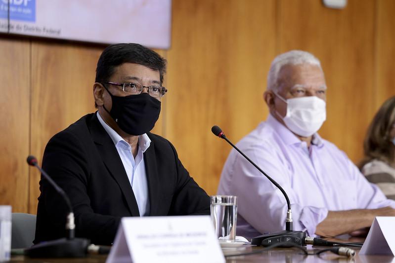 Coletiva de imprensa das ações de enfrentamento das arboviroses (08.02.2021)