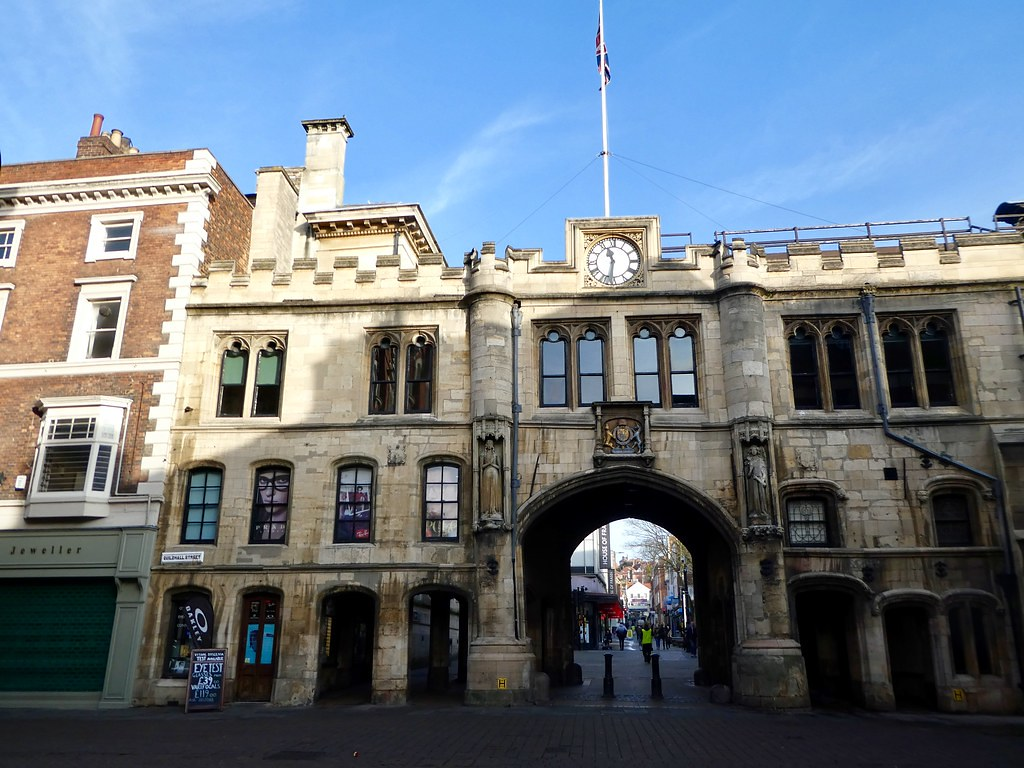 Stonebow & Guildhall, Lincoln
