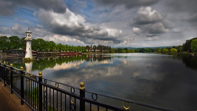 A walk along the lake