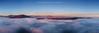 """Panoramica sulla Franciacorta sommersa da un """"mare di nebbia"""""""