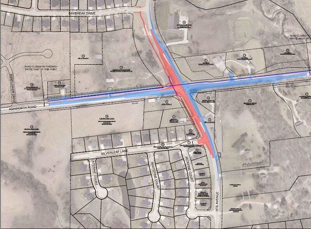 Ashworth Rd/Ute Ave Intersection Improvements