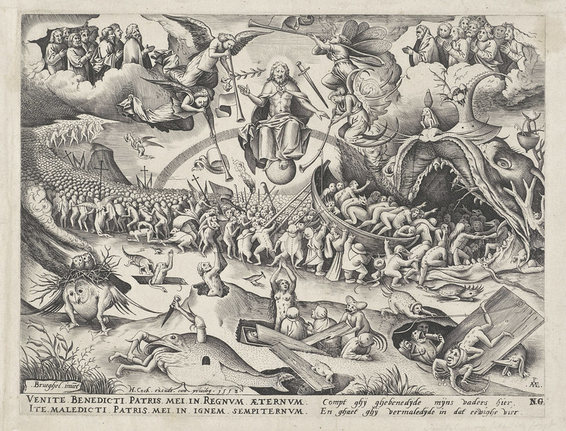 Pieter van der Heyden, After Pieter Bruegel the Elder - Last Judgement, 1558