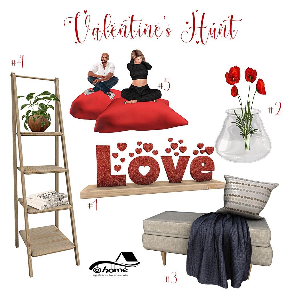 @home – Valentine's hunt – multi store