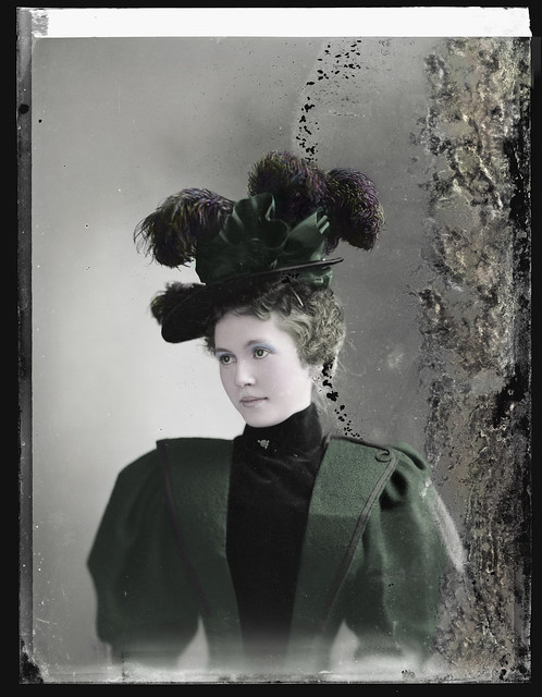 Lottie Repp between 1894-1901