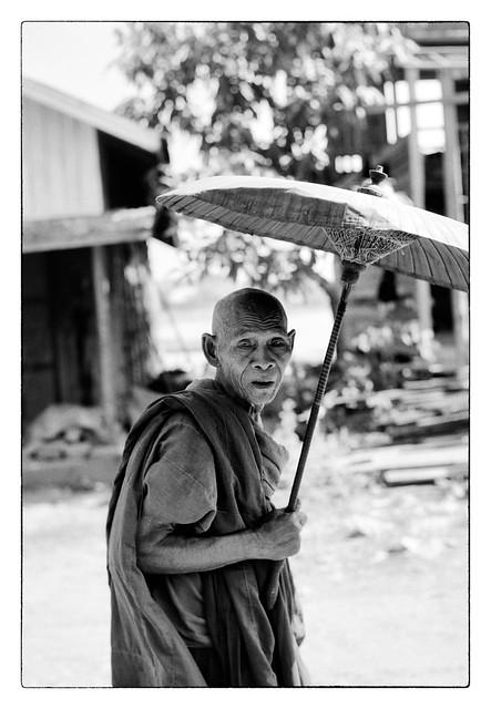 Le vieux moine - An old monk