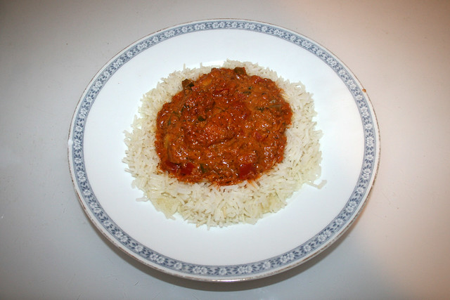 Chicken Tikka Masala - Leftovers I / Resteverbrauch I