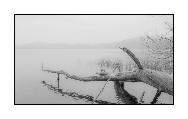 Winter at the Laacher See.