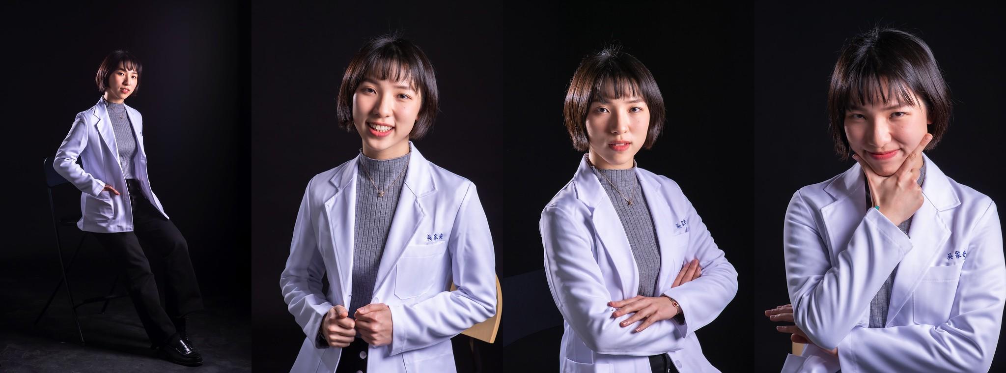 中國醫藥大學醫學院M60白袍形象照_09