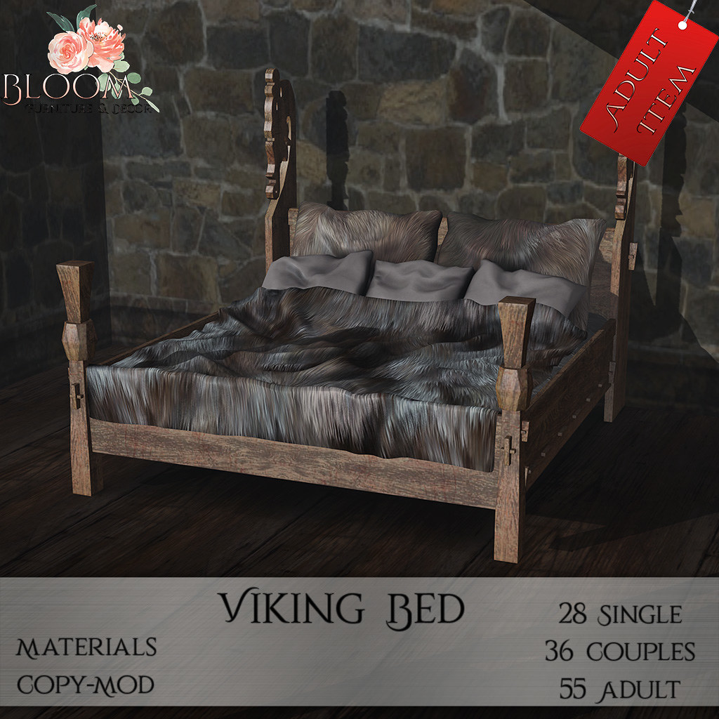 Bloom! – Viking Bed (A)AD
